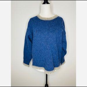 Eastern Mountain Sports Vintage 100% Wool Sweater